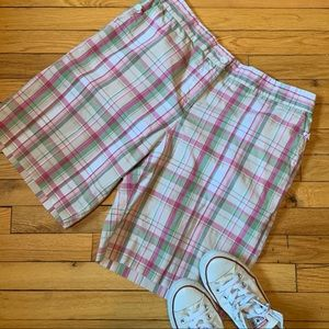 Izod Plus Size Preppy Bermuda Shorts